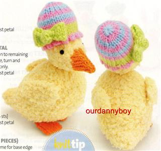 Easter Chick Knitting Pattern Instructions : KNITTING PATTERN FOR EASTER CHICKS 1000 Free Patterns