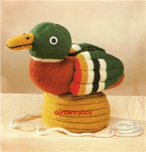 TOY Doll Knitting Pattern~ROSIE & JIM~DUCK & BOAT~ORIG!