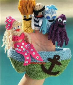 KNITTING PATTERNS FOR FINGER PUPPETS 1000 Free Patterns
