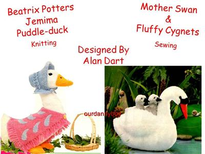 Knitting Pattern For Jemima Puddle Duck : JEMIMA PUDDLE DUCK KNITTING PATTERN FREE - VERY SIMPLE FREE KNITTING PATTERNS