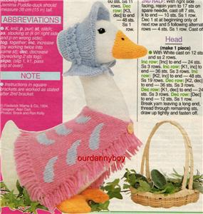 Details about ALAN DART~Toy Knitting/Sewin g Pattern~BEATRI X POTTER
