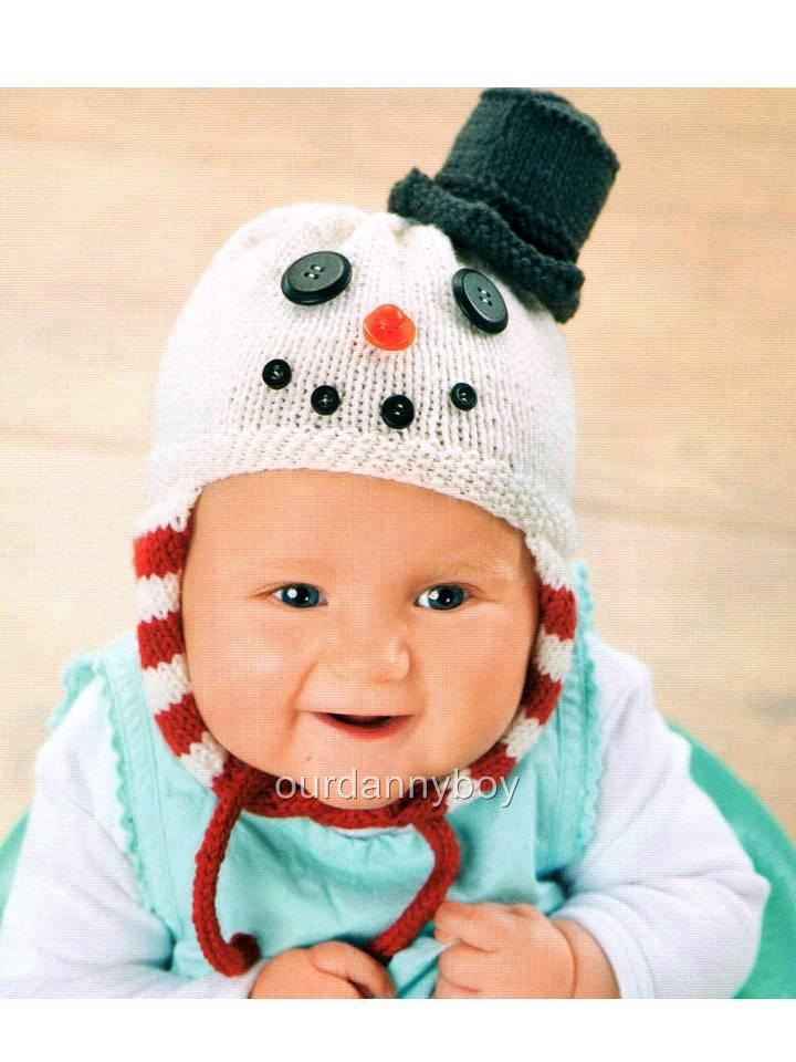 Knitting Patterns Baby Novelty Hats : ROWAN WOOL ~ Baby/Toddlers Knitting Pattern ~ NOVELTY XMAS ...
