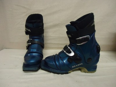 Scarpa T3 Womens Telemark Cross Country Ski Boots 3 Pin XC Size 7 US