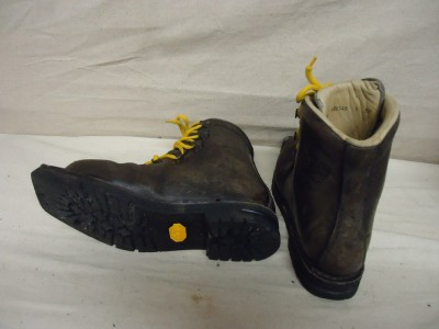 Asolo Extreme Leather Cross Country Ski Boot 3 Pin XC Size 39 EUR