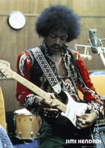 JIMI-HENDRIX-In-the-Studio-Full-Colour-Poster