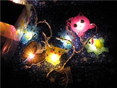 Pokemon string lights