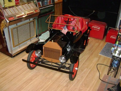 ANTIQUE MODEL T GO KART 1960'S RESTORED!!!! NICE!!!!!