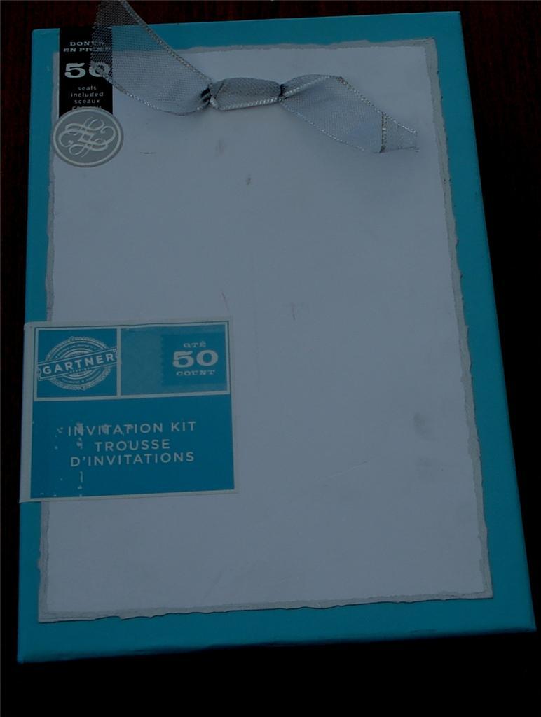 Gartner Invitation Kit is nice invitation sample