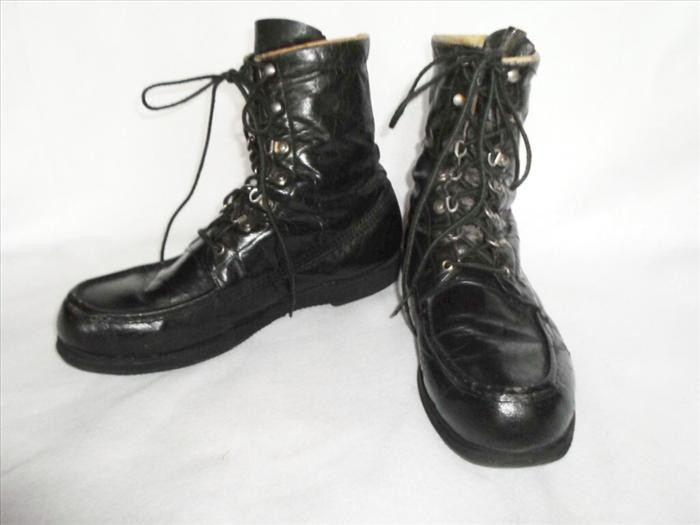 vintage browning featherweight kangaroo leather chukka