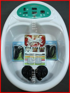 DETOX TUB FOOT BATH SPA IONIC ION CLEANSE + ACUPUNCTURE