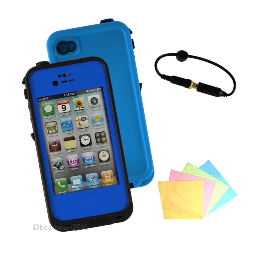 Waterproof Defender Case For IPhone 4 4S 4th Shockproof