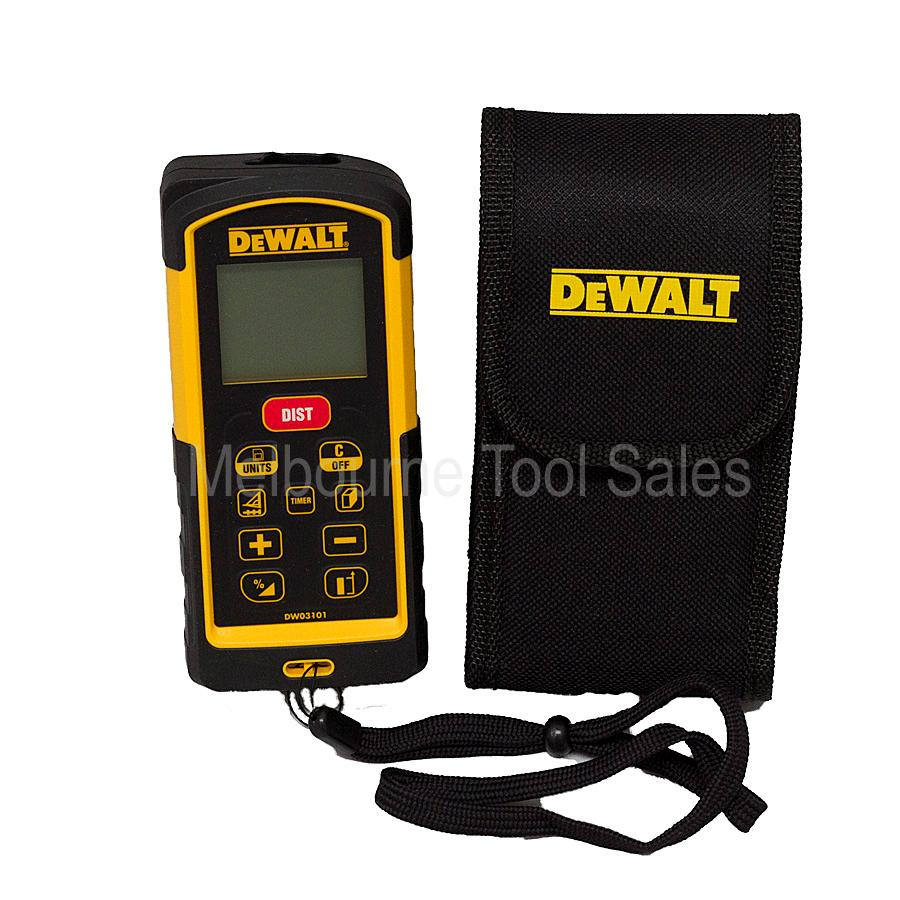 dewalt dw03101 100 metre laser distance measurer ebay. Black Bedroom Furniture Sets. Home Design Ideas