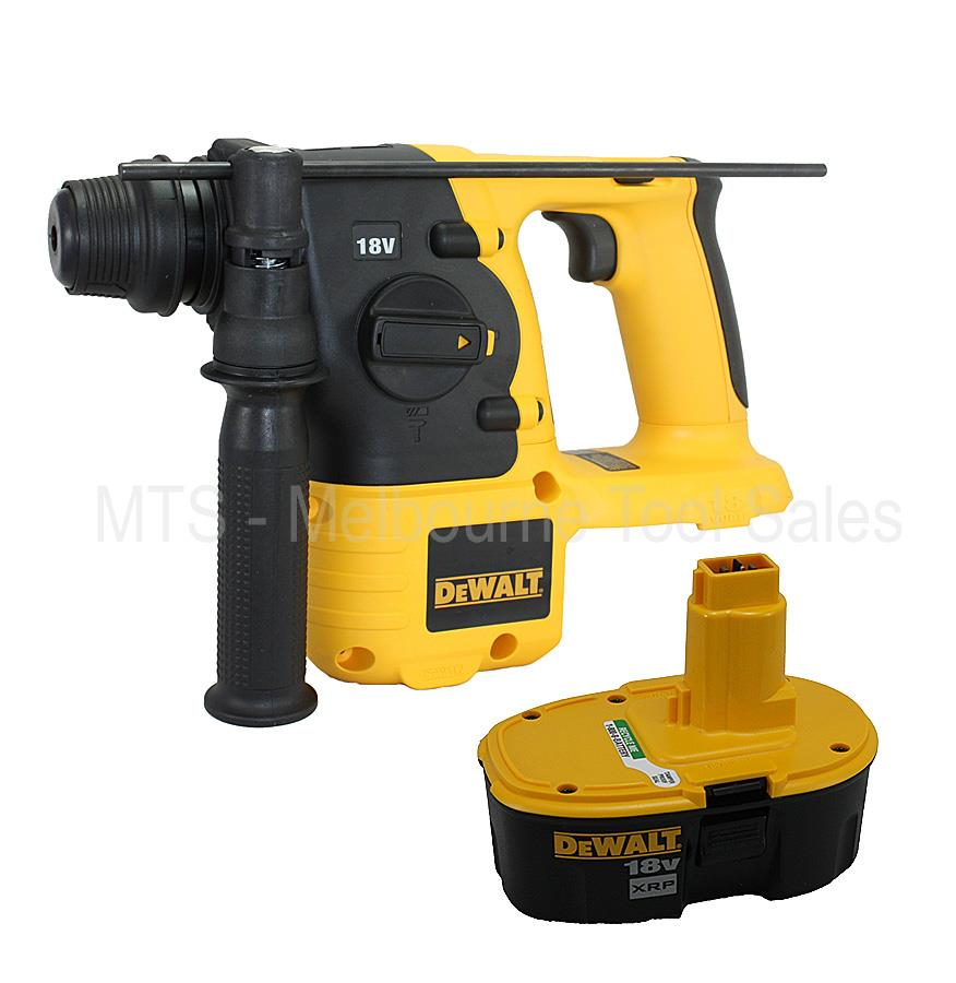 dewalt dc212 18v 7 8 22mm cordless sds rotary hammer. Black Bedroom Furniture Sets. Home Design Ideas