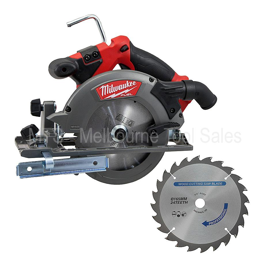 Milwaukee18v Fuel M18 M18ccs55 Cordless 165mm Brushless