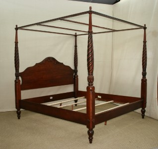 British Classics Montego King Size Canopy Poster Bed Frame