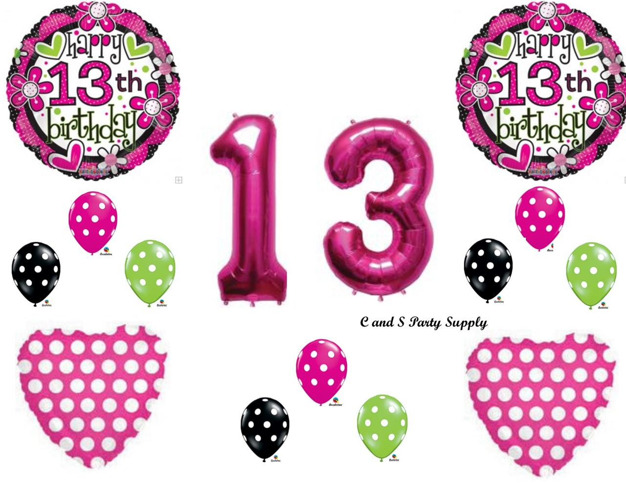 13th birthday decorations on shoppinder for 13th birthday decoration ideas