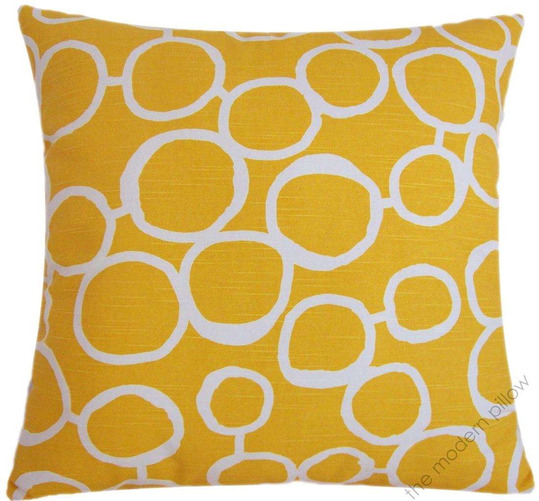 20 sq mustard yellow freehand decorative throw pillow. Black Bedroom Furniture Sets. Home Design Ideas