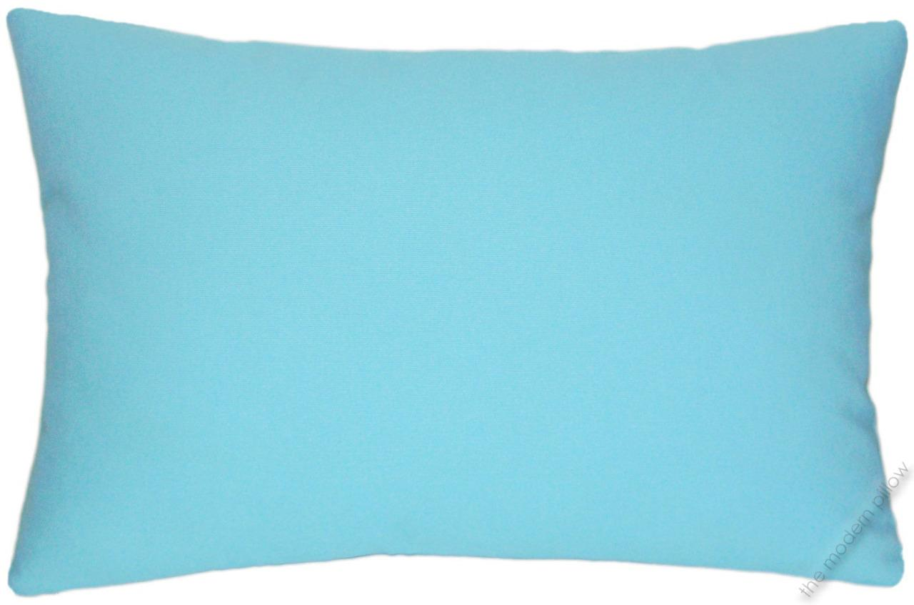 Sky Blue Decorative Pillows : Sky Blue Solid Decorative Throw Pillow Cover/Cushion Cover / Cotton 12x18