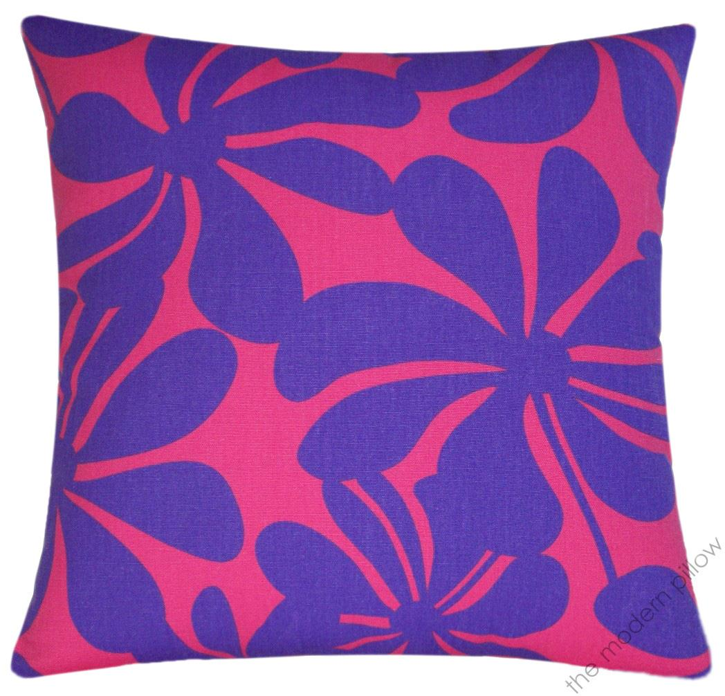 Throw Pillow Covers Purple : Pink/Purple Twist decorative throw pillow cover/case/cushion cover cotton 18x18