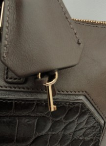 BN ANYA HINDMARCH Brown Leather Large Tote Shoulder Bag