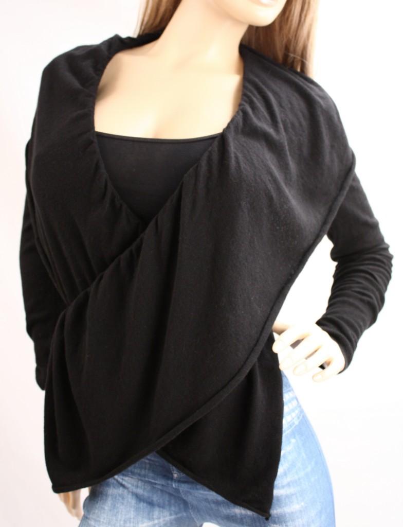 Victoria's Secret Ruffled Cardigan Cashmere Multi Way Wrap ...