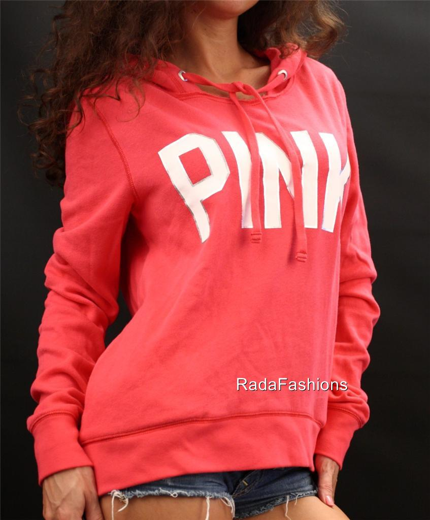 Victoria 039 S Secret Love Pink Pullover Hoodie S Pink Ebay - Hot Girls Wallpaper