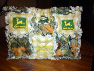 Camo Rag Quilt Bag Purse