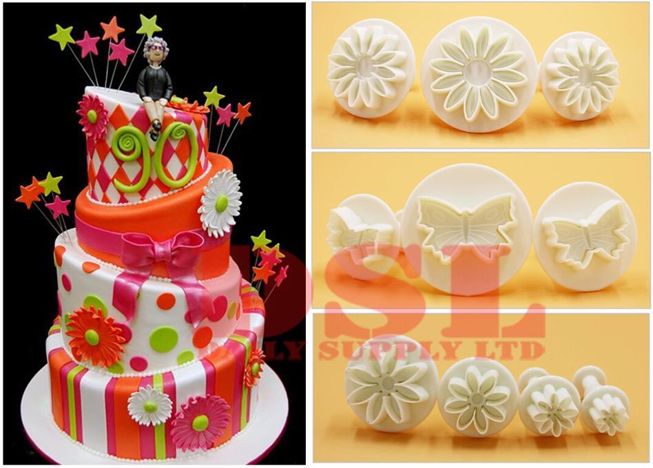 Cake Decorating Sets Uk : 33 PIECES (10 SETS) CAKE TOOLS DECORATING CUTTING ICING ...