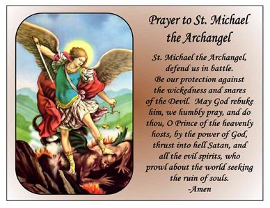 St. Michael Archangel Prayer