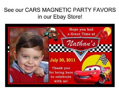 DISNEY CARS BIRTHDAY PARTY INVITATIONS eBay