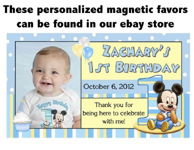 Baby Mickey Mouse 1st Birthday Invitations Design On Popscreen