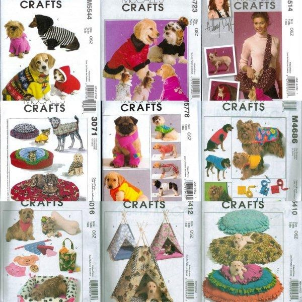 McCalls-Craft-Pet-Dog-Cat-Bed-Clothes-Sewing-Pattern