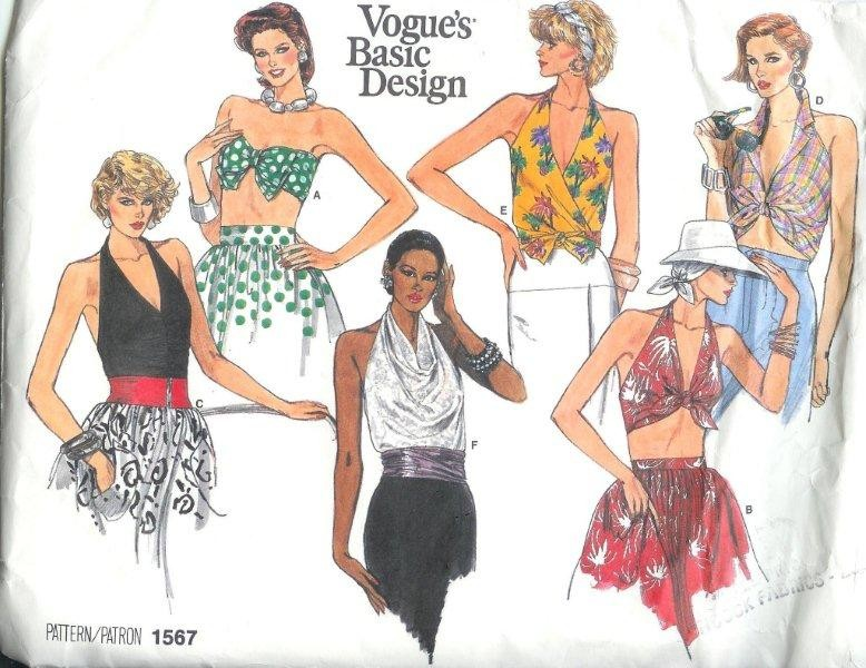 Oop vogue basic design misses sewing pattern ebay