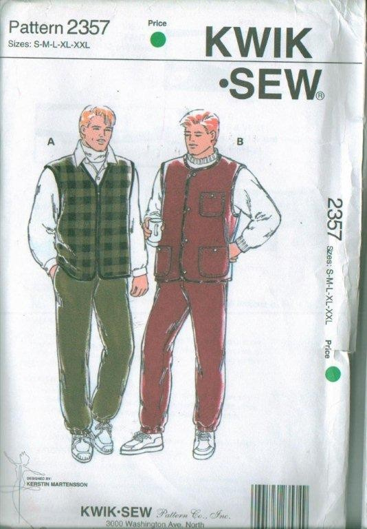 kwik sew mens clothes sewing pattern ebay