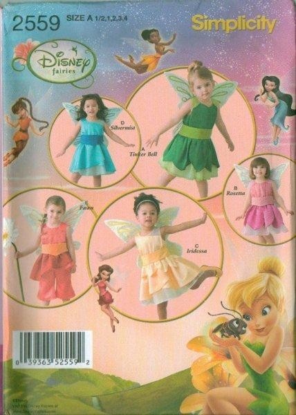 Disney Princess Costume Simplicity Sewing Pattern New You Pick EBay Custom Disney Sewing Patterns