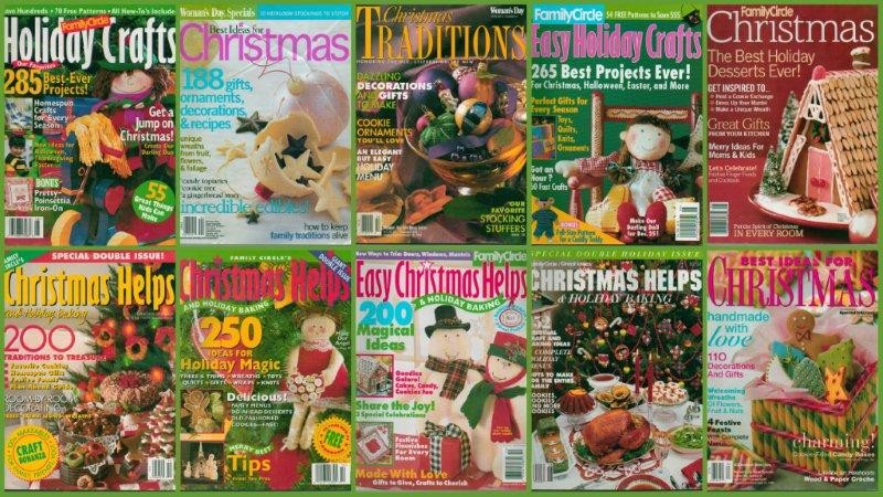 christmas magazine family circle woman 39 s day special issue
