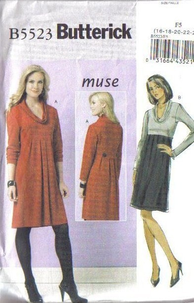 Butterick-Sewing-Pattern-Misses-Size-16-18-20-22-24-w-Plus-Size-Full-Figure