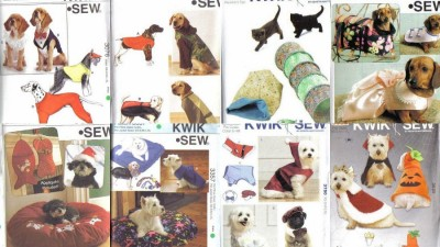Kwik sew pet sewing pattern dog clothes cat toys - Cat clothing patterns free ...