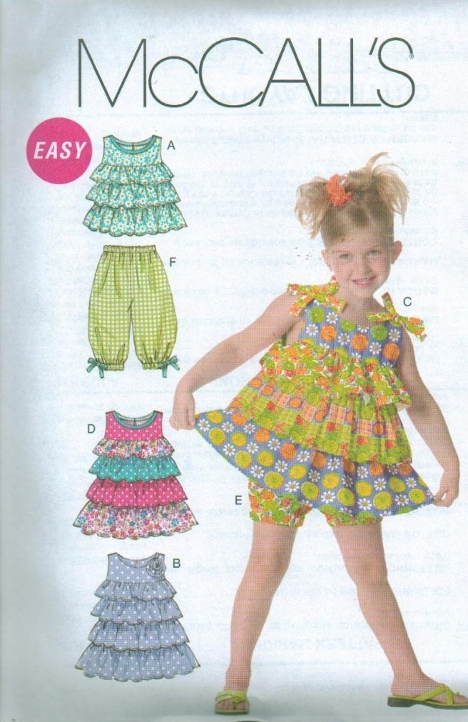 OOAK Boutique Style Clothes Outfits McCalls Sewing Pattern Childs ...