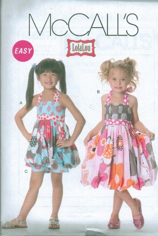 Ooak Boutique Style Clothes Outfits Mccalls Sewing Pattern Childs
