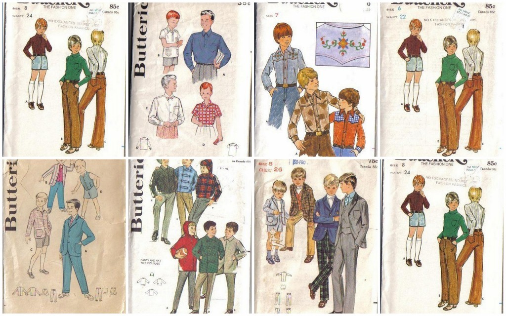 Sewing Patterns For Boys Clothes