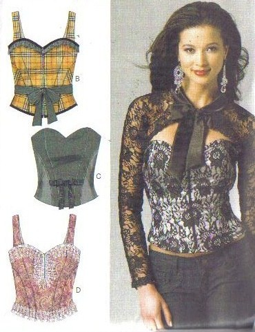 Sewing Patterns Corset | Patterns Gallery