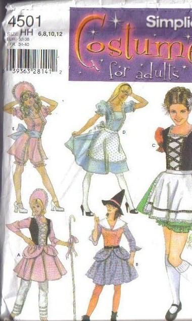 Halloween Costume Sewing Patterns - Meningrey