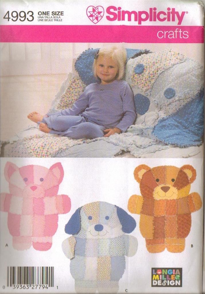 OOP Simplicity Children Home Decorating Accessories Sewing Pattern U Pick eBay