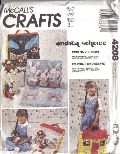 McCalls Sewing Pattern Stuffed Bunny Rabbit McCall's Easter Bunnies Best Mccalls Craft Patterns