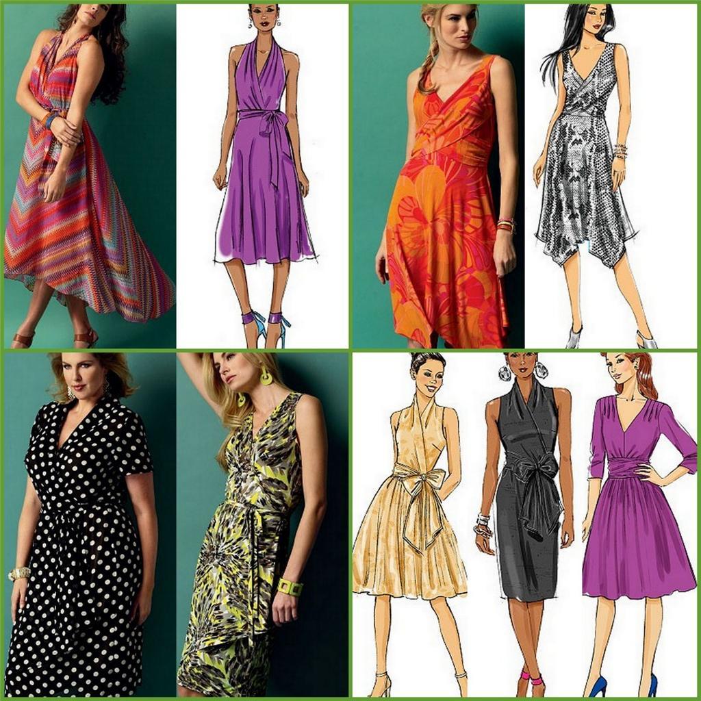 Free wrap dress sewing pattern image collections craft wrap dress sewing patterns gallery craft decoration ideas plus size wrap dress pattern free evening wear jeuxipadfo Choice Image