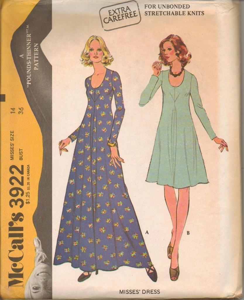 14 Best Delica D5 Images On Pinterest: Vintage 1970's Mccalls Sewing Pattern Misses Size 14 Bust