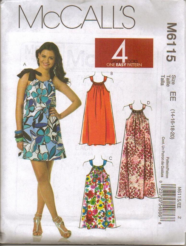 Mccalls sewing pattern misses dress with mccalls plus size mccalls sewing pattern misses dress with mccall 039 jeuxipadfo Gallery