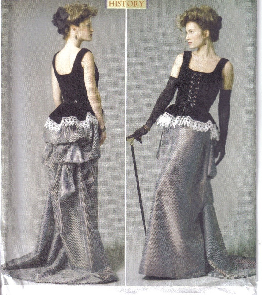 Butterick Sewing Pattern Misses Historical Costume LARP