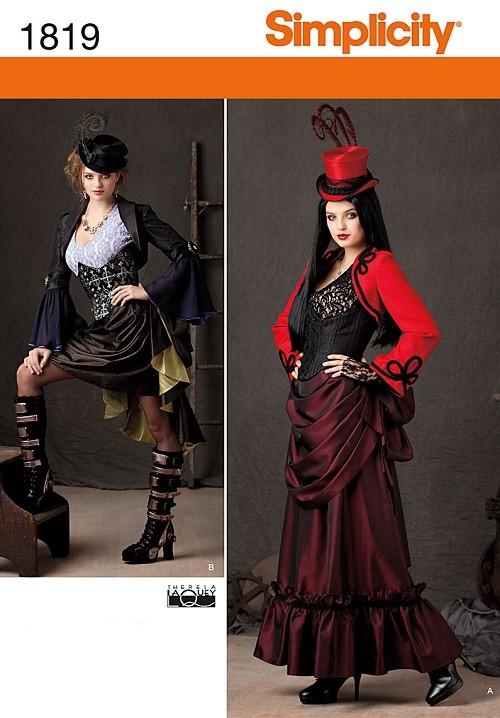 Victorian dress costume plus size